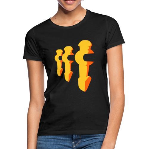 Kickerfiguren - Kickershirt - Frauen T-Shirt