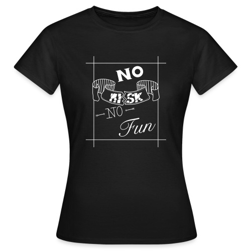 Chalkboard Art - Frauen T-Shirt