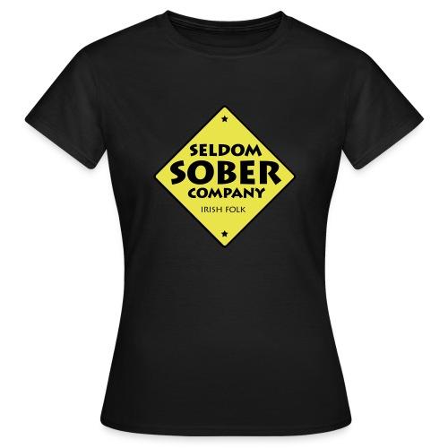 Seldom Sober Company Logo - Frauen T-Shirt