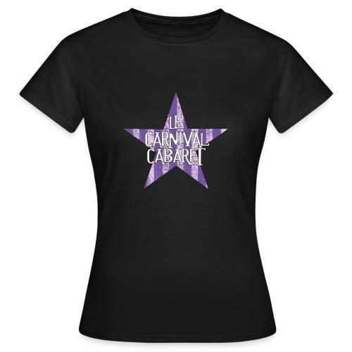bonnet LCC noir etoie violette - Women's T-Shirt