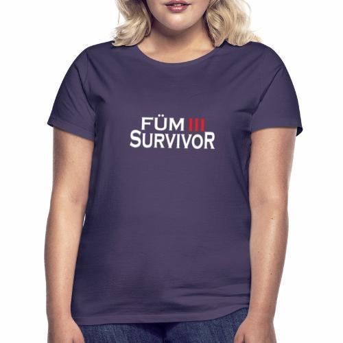FÜM 3 Survivor - Lustige Wiener Jusstudenten - Frauen T-Shirt