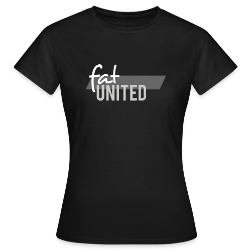 fatunited logo light 300dpi print - Frauen T-Shirt