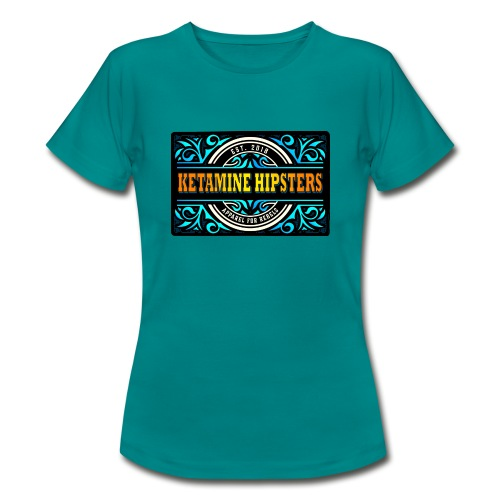 Black Vintage - KETAMINE HIPSTERS Apparel - Women's T-Shirt