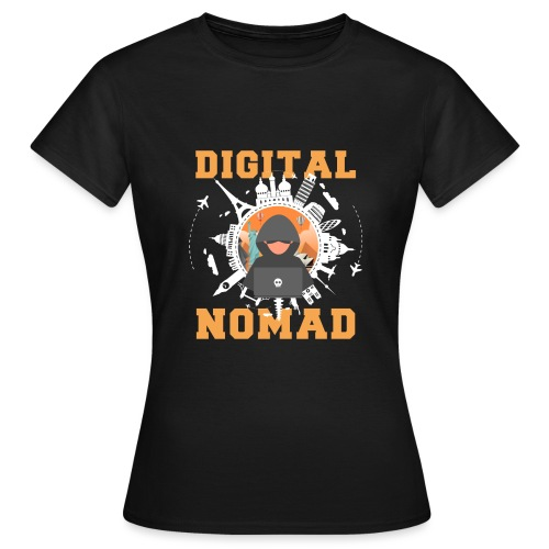 Digital Nomad - Frauen T-Shirt