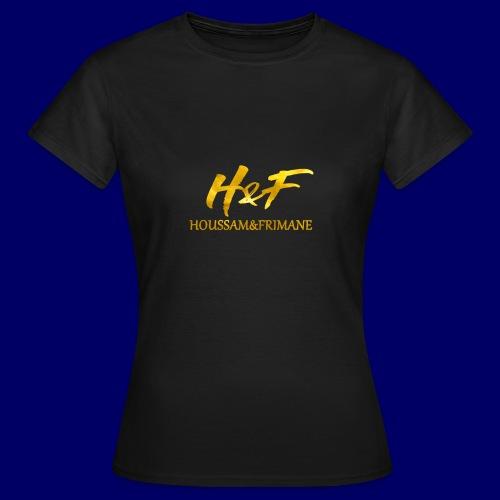 h f gold2 - Maglietta da donna