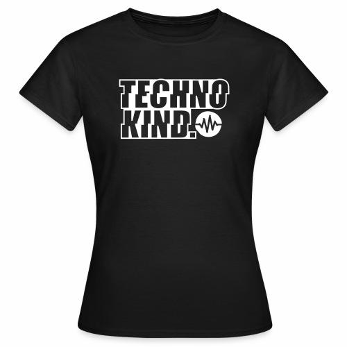 Techno Kind V2 - Frauen T-Shirt