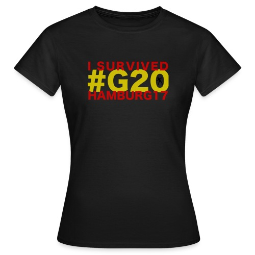G20 transparent - Frauen T-Shirt