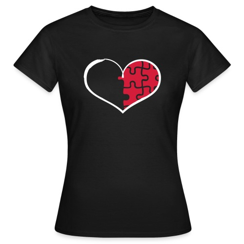 Half Heart Right - Women's T-Shirt