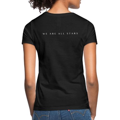 Galaxy Music Lab - We are all stars - Dame-T-shirt