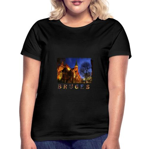 Bruges | By Night - Vrouwen T-shirt