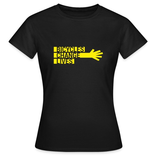 BCL Yellow Hand - Women's T-Shirt