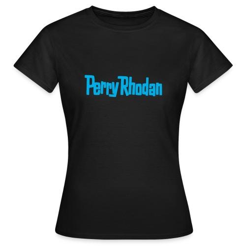 Perry blau - Frauen T-Shirt