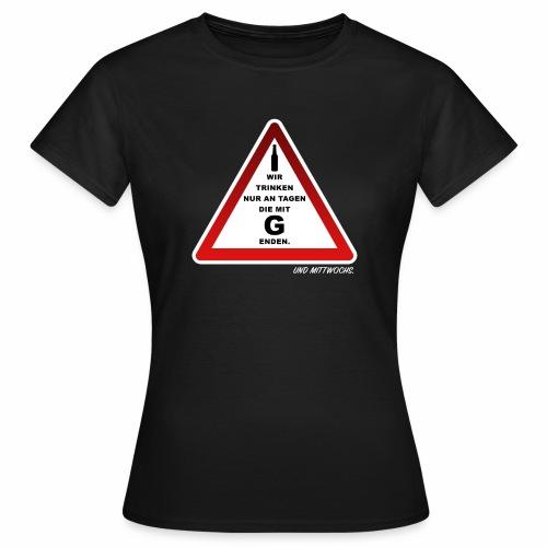 Warndreieck - Frauen T-Shirt