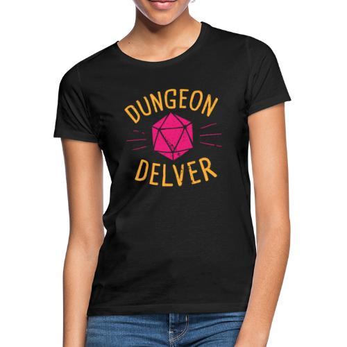 Dungeon Delver yellow pink - Women's T-Shirt