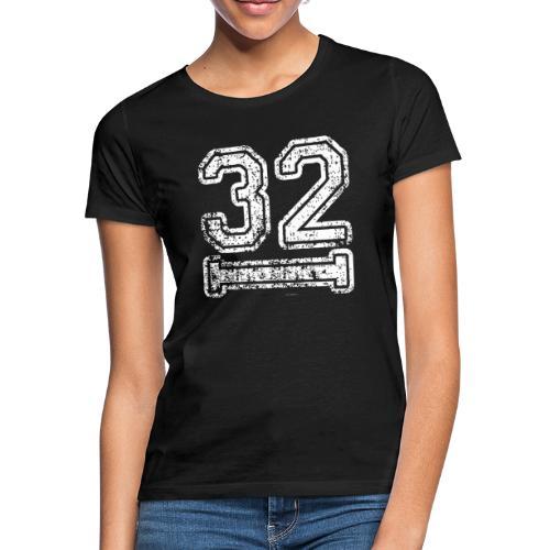 32 Baseball Logo - Frauen T-Shirt