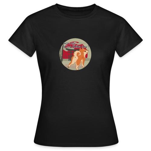it´s a shiba inu - Frauen T-Shirt