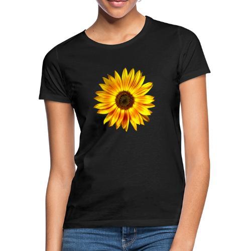 Sonnenblume gelb Sommer - Frauen T-Shirt