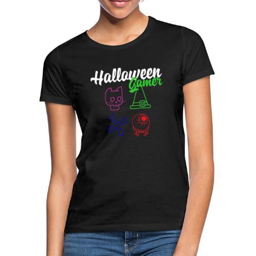 Halloween Gamer Zocken Gaming Controller Shirt - Frauen T-Shirt