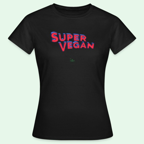 Super Vegan - T-shirt dam