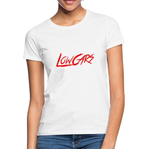 LetTheLowCarsRoll white - Frauen T-Shirt