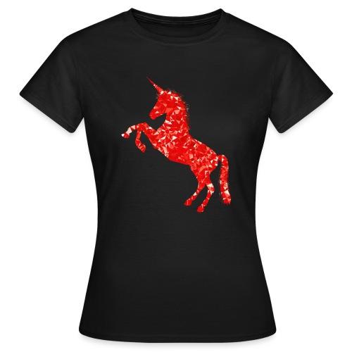 unicorn red - Koszulka damska