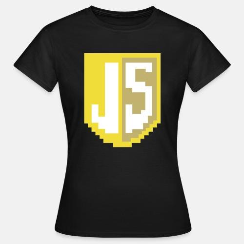 JavaScript Pixelart Logo - Frauen T-Shirt