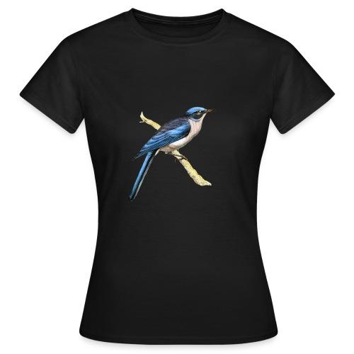 Bird blue - Frauen T-Shirt