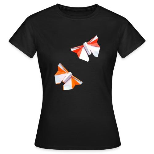 Butterflies Origami - Butterflies - Mariposas - Women's T-Shirt