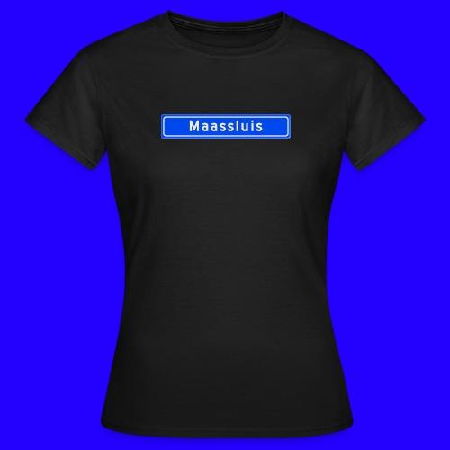 Maassluis box logo - Vrouwen T-shirt