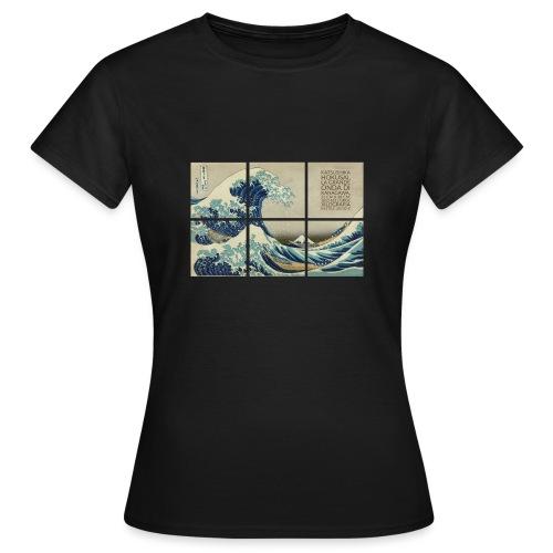 La grande onda di Kanagawa, Katsushika Hokusai - Maglietta da donna