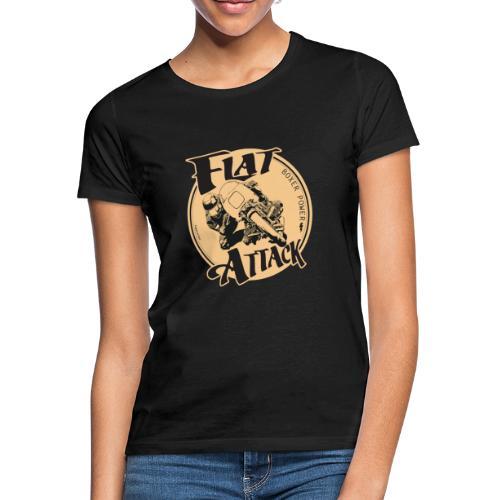 N 179 FLAT ATTACK 2 - T-shirt Femme