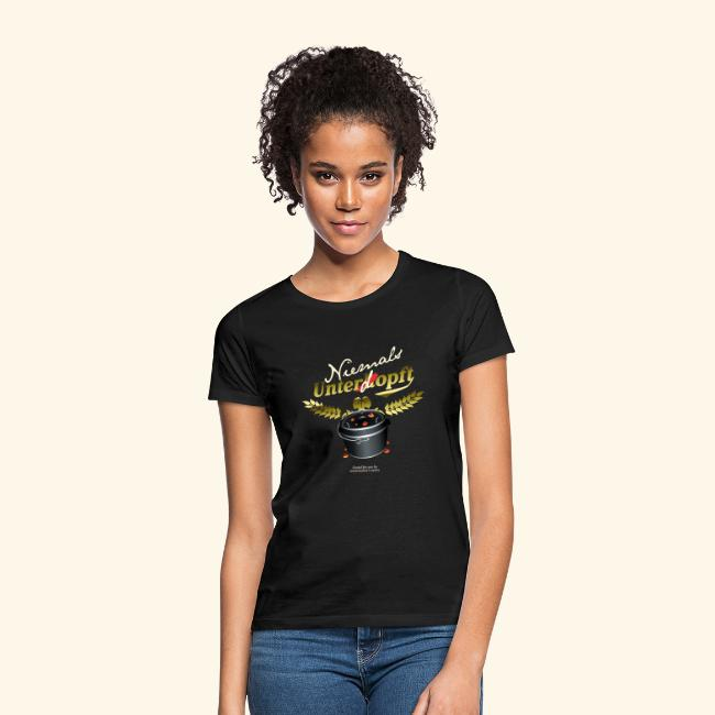 Dutch Oven Grill T Shirt Niemals unterdopft