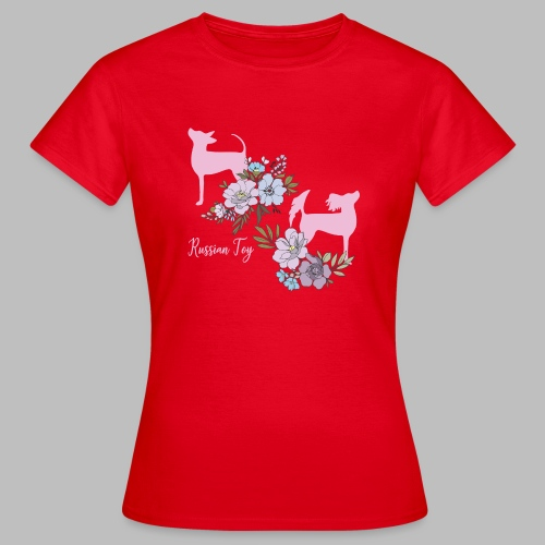 kukkakangasYhes - Naisten t-paita