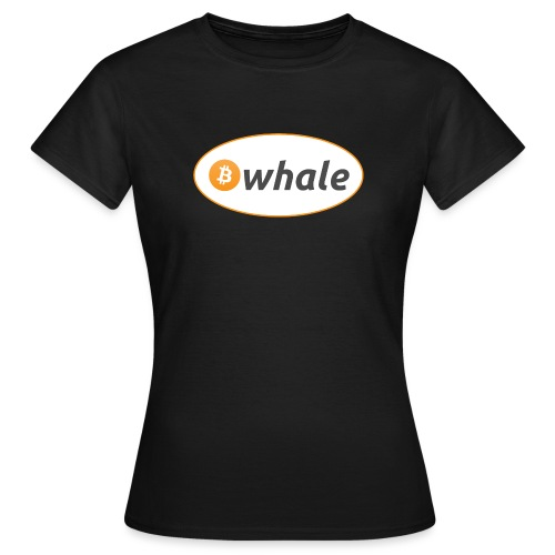 Bitcoin Whale - Women's T-Shirt
