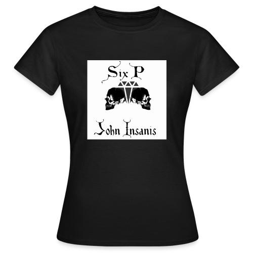 Six P & John Insanis New T-Paita - Naisten t-paita