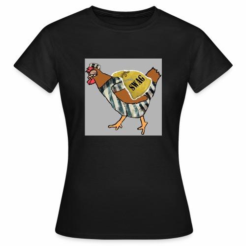 SWAG Chicken Logo - Women's T-Shirt