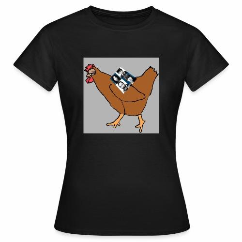 Quad Chicken Logo - Women's T-Shirt
