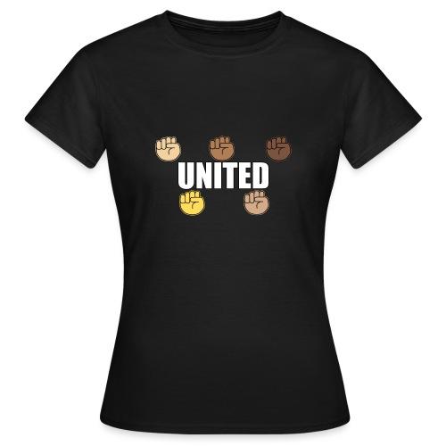 Gemeinsam gegen Rassismus - Frauen T-Shirt