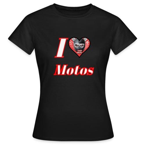 ilovemotos - Camiseta mujer