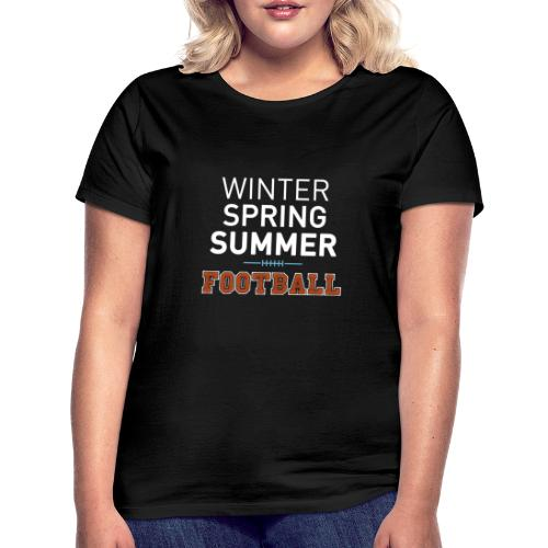 4 Seasons - American Football - Frauen T-Shirt