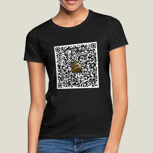 QR-kod bajshoroskop - T-shirt dam