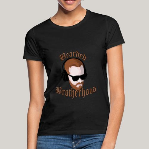 The Bearded Brotherhood w/ Text - Women's T-Shirt