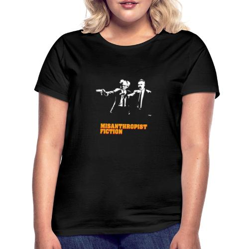 Misanthropist Fiction - Frauen T-Shirt