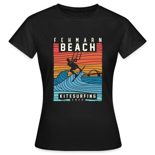 Fehmarn - Kitesurfen - Frauen T-Shirt