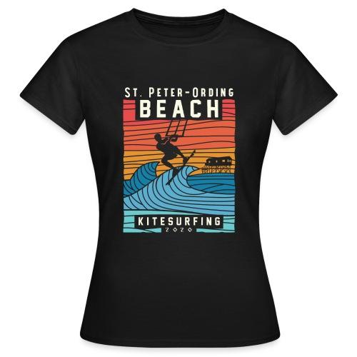 Kitesurfing St. Peter Ording - Frauen T-Shirt