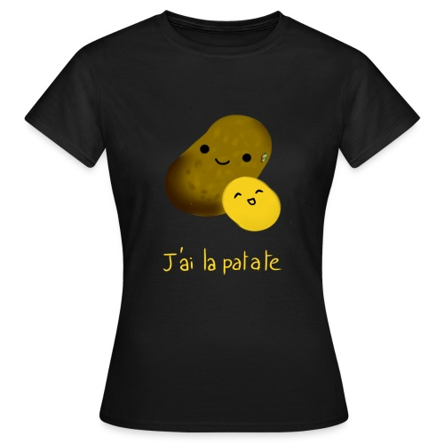 patate png - T-shirt Femme