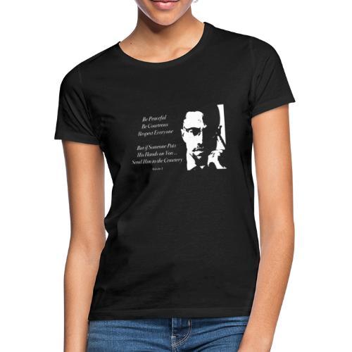 Malcolm X [#1] - Women's T-Shirt
