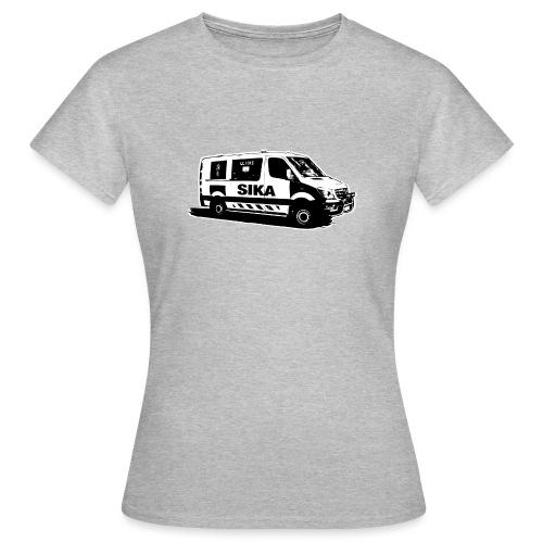 Sika remix - Naisten t-paita