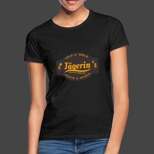 Das Jägerin-Shirt für aktive Jägerinnen - Frauen T-Shirt