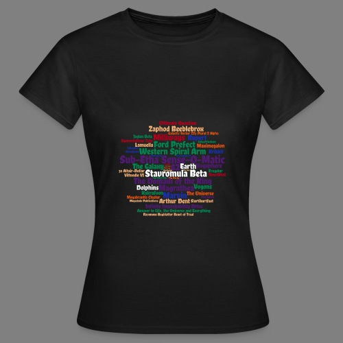 Per Anhalter - Frauen T-Shirt